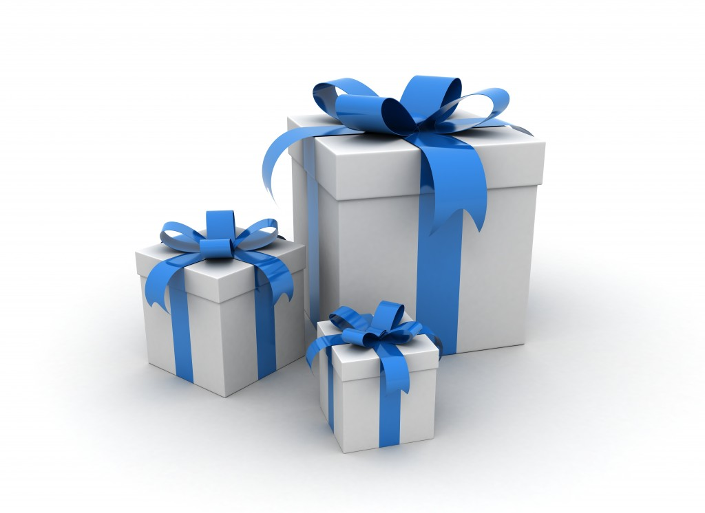 Gifts - three presents