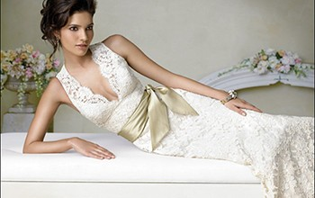 mermaid wedding dresses with lace_2