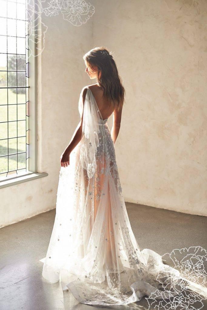 Платье Avery Dress от Анны Кэмпбелл (вид сзади)